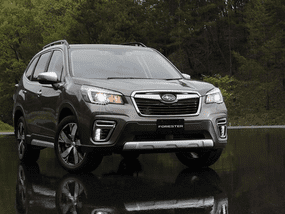 Hybrid Subaru Forester 2019 boosts fuel efficiency with X-Mode & e-BOXER