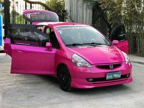 Fresh Honda Fit 2001 Pink Hatchback For Sale