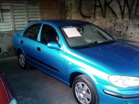 Nissan Sentra 2004 matic blue For sale