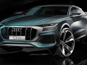 Audi Q8 2019: Another teaser previewing its face