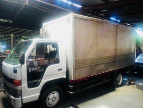 2002 Isuzu Elf Nkr Close Aluminum Van
