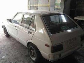 Toyota Starlet 1981 Manual White Hb For Sale