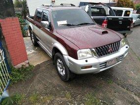 2003 MITSUBISHI Strada 4x4 FOR SALE