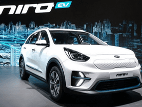 Kia Niro EV 2019 uncovered at Busan International Motor Show, power revealed