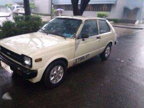 Toyota Starlet 2dr 81 FOR SALE