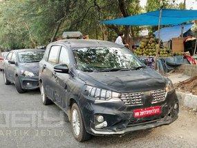 Indian-spec Suzuki Ertiga 2018 revealed in new spy shots