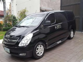 2010 Hyundai Grand Starex VGT AT Black For Sale
