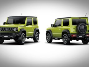 Fourth-gen Suzuki Jimny 2019 revealed with a more modern look