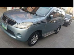 Mitsubishi Fuzion 2008 Gas Blue SUV For Sale
