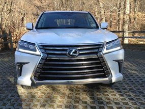 2017 Lexus Lx570 White SUV Top of the line For Sale