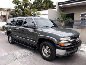 2002 Chevrolet Suburban Gray SUV For Sale