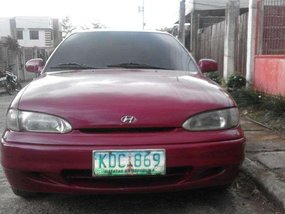 Hyundai Accent 2005 Manual Red For Sale