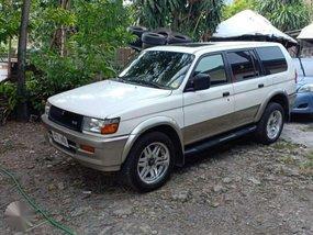 1997 Mitsubishi Montero Sports White For Sale