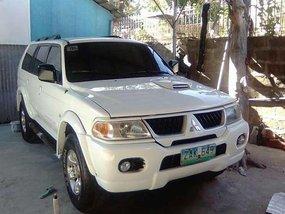 2005 Mitsubishi Montero 4x4 AT White For Sale