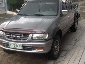 Isuzu Fuego 4x4 LS 1999 Gray For Sale