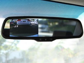 How to adjust rear-view mirrors for a safe drive