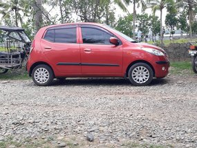 Hyundai i10 Automatic 2011 Red HB For Sale