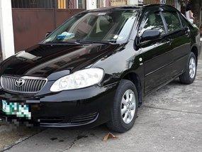 Toyota Corolla Altis 2007 Manual Black For Sale