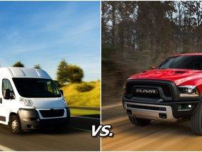 Auto 5-point shootout: Pick-up vs Minivan