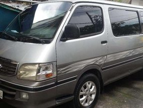 Toyota Hiace 2001 Manual Silver Van For Sale