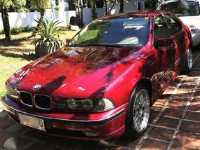 BMW 523i 1997 Red Sedan Well Maintained For Sale