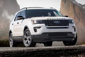 2018 Ford Explorer Brand New White For Sale