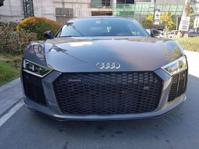 2018 Audi R8 V10 Plus Gray Coupe For Sale