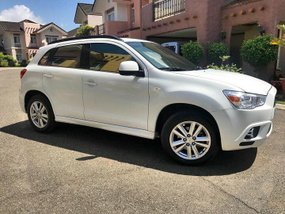 Mitsubishi ASX 2011 Gas White SUV For Sale