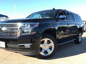 2018 Brand New Chevrolet Suburban Black For Sale