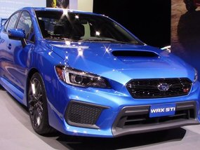 2018 Brand New Subaru Wrx STi Blue For Sale