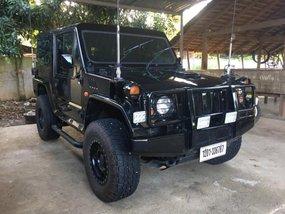 Mitsubishi Pajero 73 Military Jeep Black For Sale