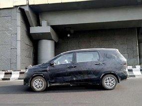 Indian-spec Suzuki Ertiga 2018 petrol version caught while being tested