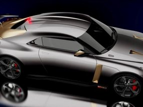 Nissan GT-R50 premiered to celebrate 50th anniversary of Godzilla & Italdesign