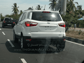 US-spec Ford EcoSport 4WD 2018 caught being tested on Indian roads