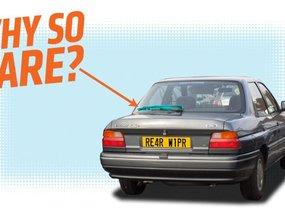 Sedan has no rear wiper, fault of design or manufacture?