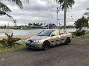 Honda Civic 2002 Dimension Silver For Sale