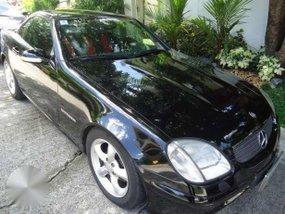 2002 Mercedes Benz SLK 200 Black For Sale