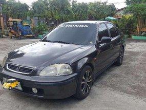 1996 Honda Civic VTI Black Sedan For Sale