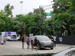 Suzuki Ertiga 2018 is captured during its promo shoot in Thailand