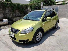 2013 Suzuki SX4 Crossover Yellow For Sale