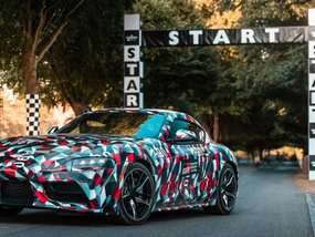 Toyota Supra 2019 showcased its dynamism at Goodwood Festival of Speed