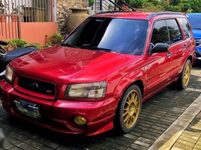 2003 Subaru Forester 2.0 AWD MT Red For Sale