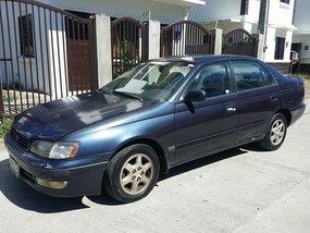 1996 Toyota Corona Blue Sedan For Sale