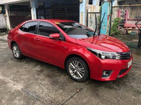 2014 Toyota Corolla Altis G Red For Sale