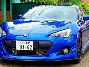 Subaru BRZ 2013 2.0 M/T Blue For Sale