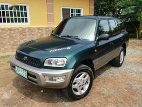 1997 toyota rav4 manual green for sale