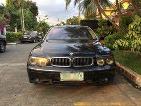 2004 BMW 735Li Black For Sale