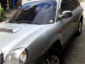 Hyundai Santa Fe 2001 Silver SUV For Sale