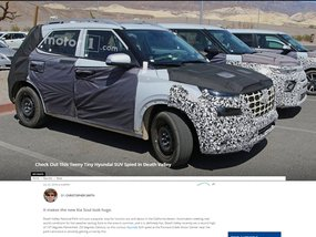 Hyundai's unnamed tiny SUV caught testing, soon arriving in the US