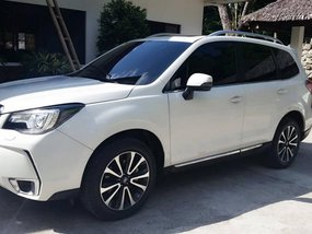 subaru forester xt 2018 white for sale